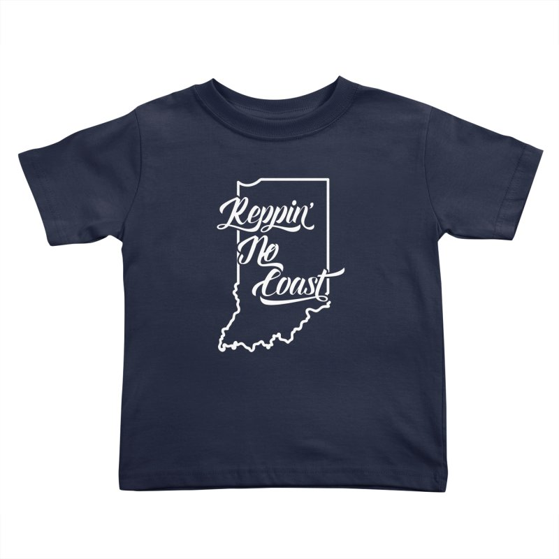 Reppin No Coast Kids Toddler T-Shirt by The Gnashed Teethery