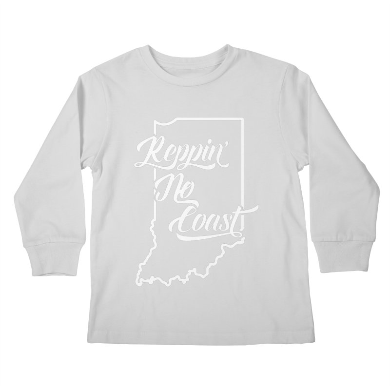 Reppin No Coast Kids Longsleeve T-Shirt by The Gnashed Teethery