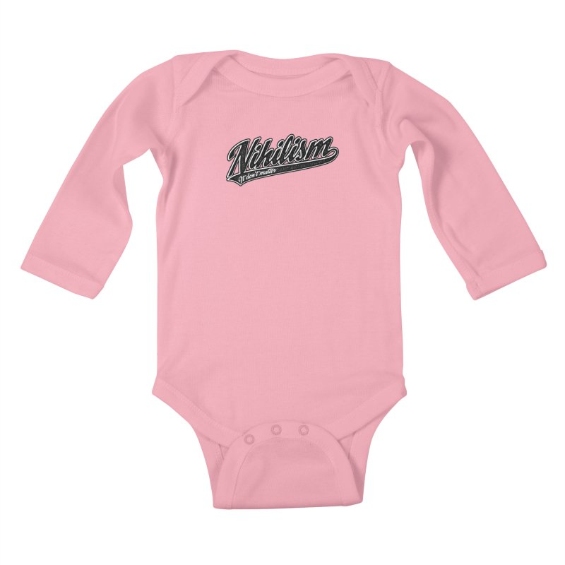 It don't matter Kids Baby Longsleeve Bodysuit by The Gnashed Teethery