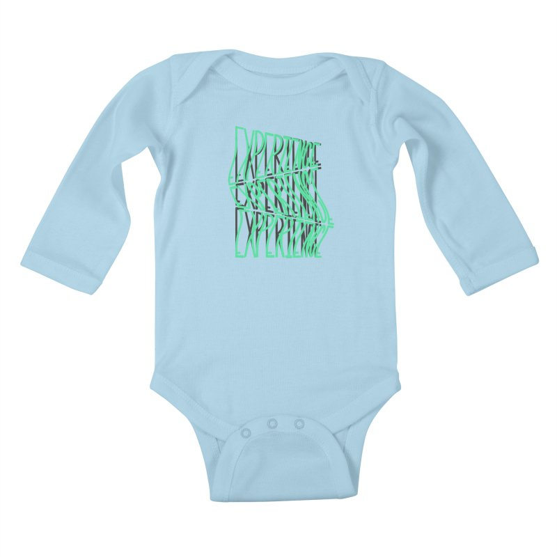 Experience Kids Baby Longsleeve Bodysuit by The Gnashed Teethery