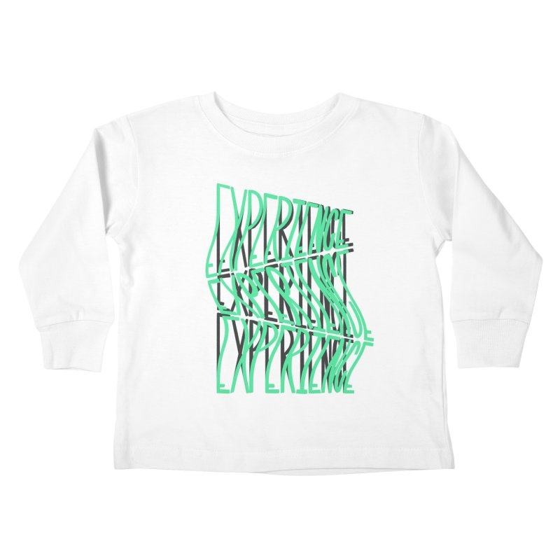 Experience Kids Toddler Longsleeve T-Shirt by The Gnashed Teethery