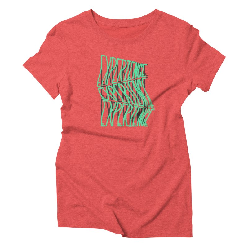 Experience Women's Triblend T-Shirt by The Gnashed Teethery