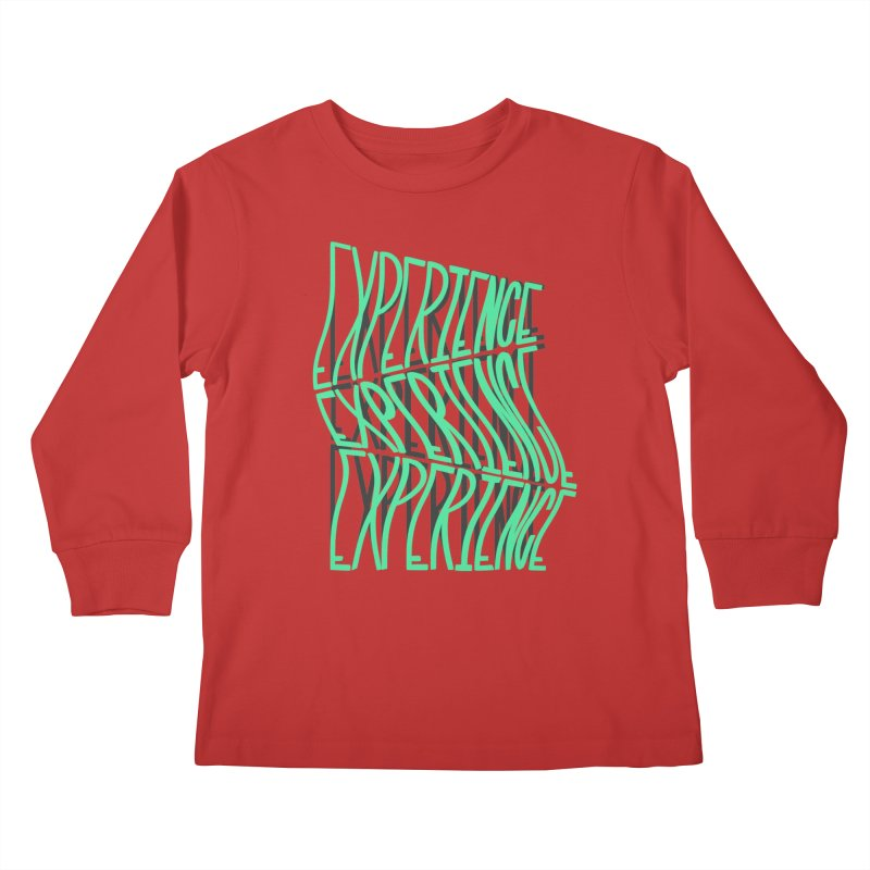 Experience Kids Longsleeve T-Shirt by The Gnashed Teethery