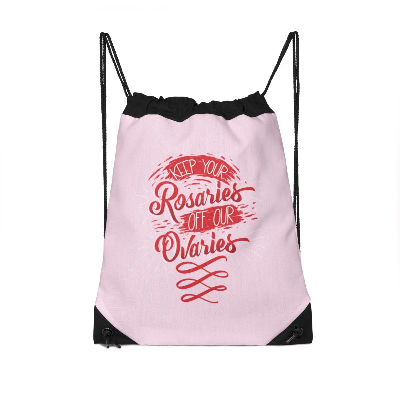 Off Our Ovaries! Accessories Bag by The Gnashed Teethery