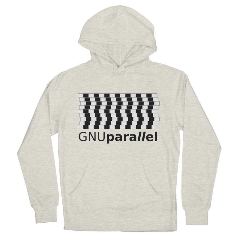 GNU Parallel Men's French Terry Pullover Hoody by Shop for GNU Parallel