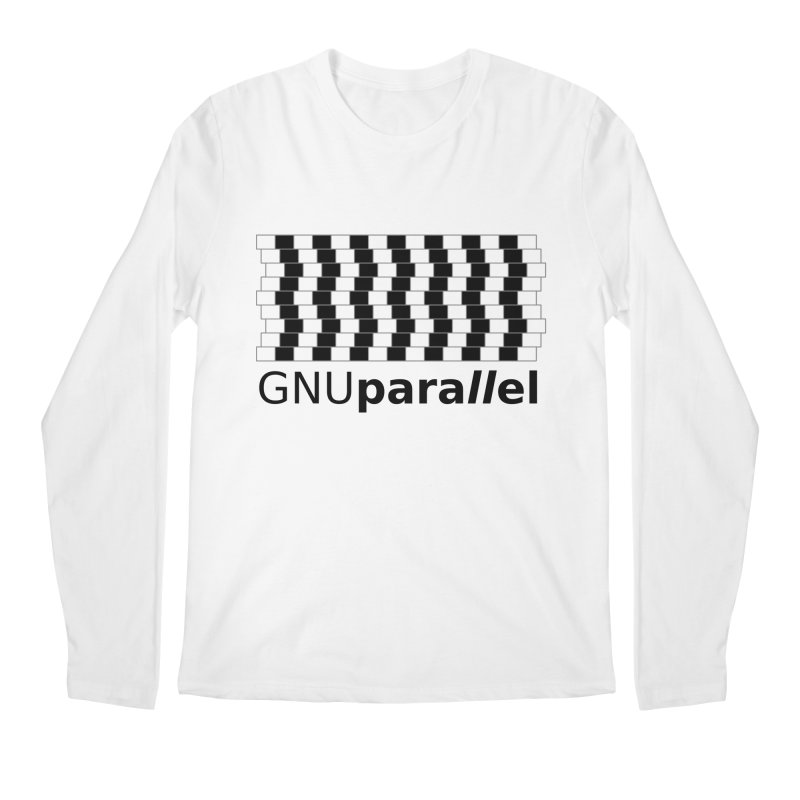 GNU Parallel Men's Regular Longsleeve T-Shirt by Shop for GNU Parallel