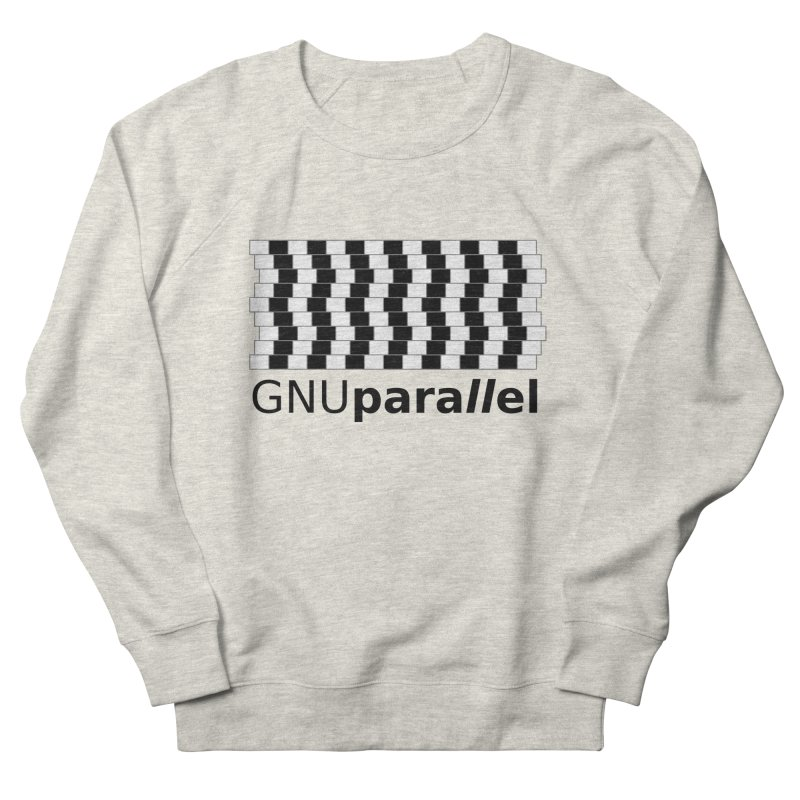 GNU Parallel Men's French Terry Sweatshirt by Shop for GNU Parallel