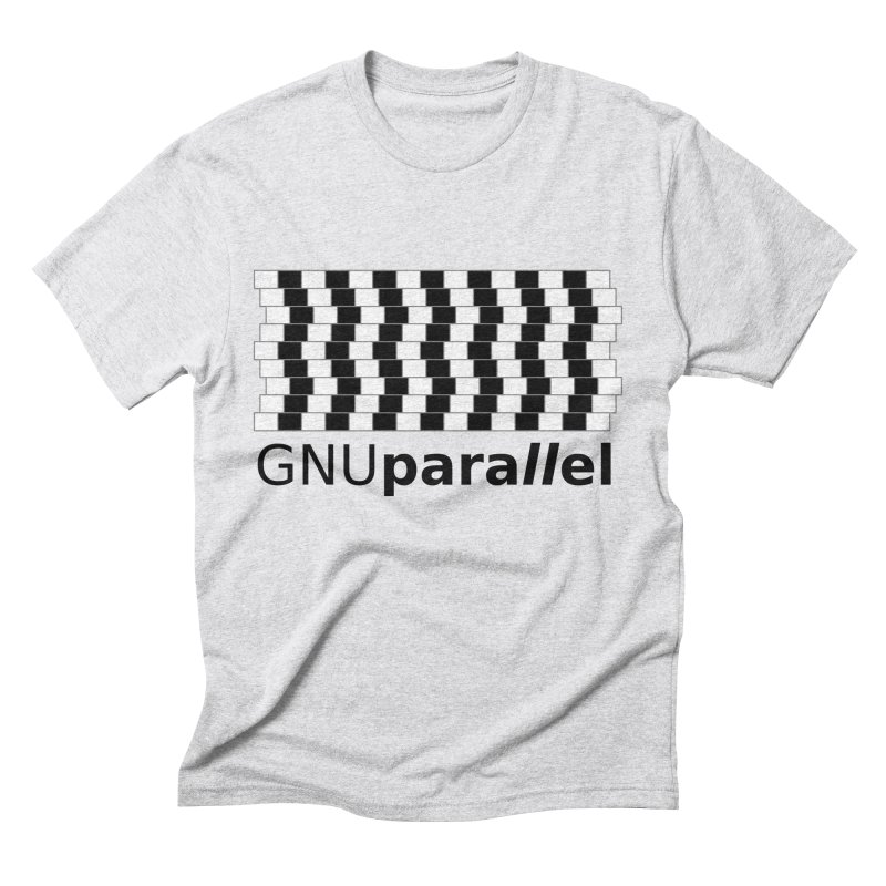 GNU Parallel Men's Triblend T-shirt by Shop for GNU Parallel