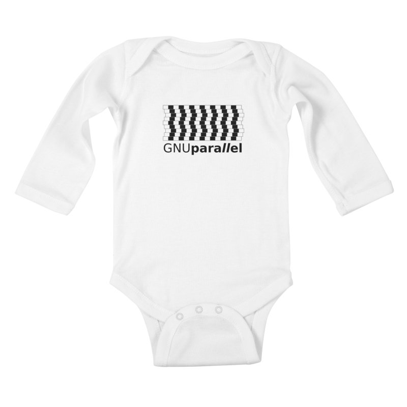 GNU Parallel Kids Baby Longsleeve Bodysuit by Shop for GNU Parallel