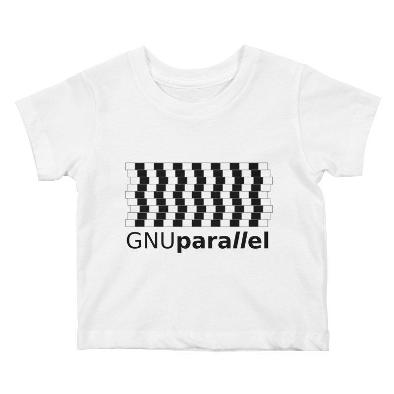GNU Parallel Kids Baby T-Shirt by Shop for GNU Parallel