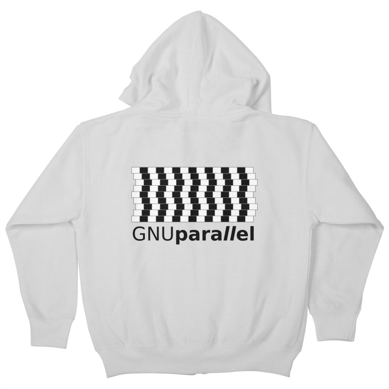 GNU Parallel Kids Zip-Up Hoody by Shop for GNU Parallel