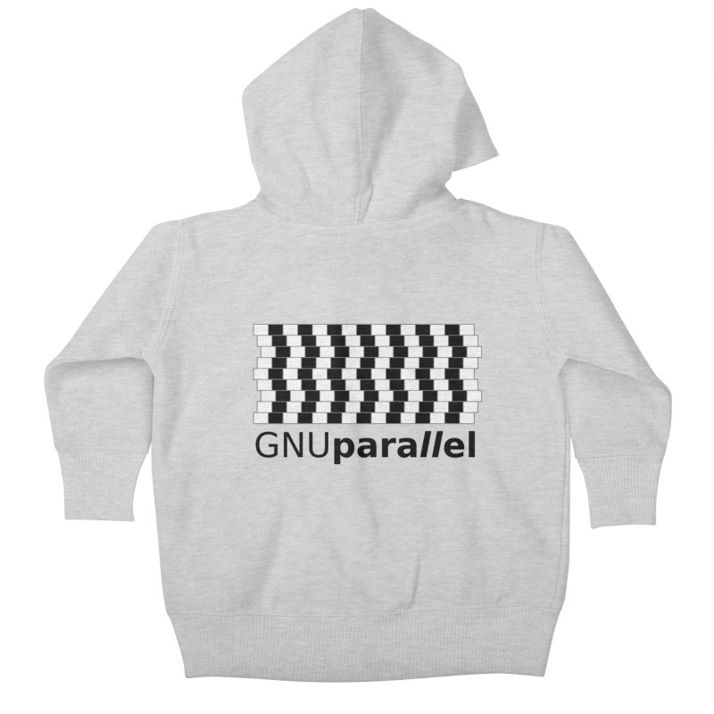 GNU Parallel Kids Baby Zip-Up Hoody by Shop for GNU Parallel
