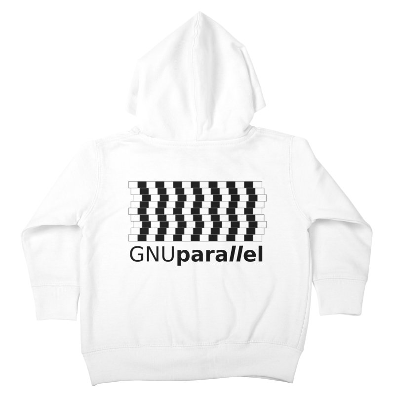 GNU Parallel Kids Toddler Zip-Up Hoody by Shop for GNU Parallel