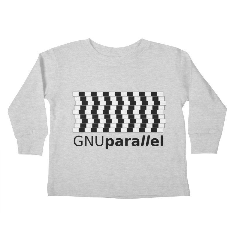 GNU Parallel Kids Toddler Longsleeve T-Shirt by Shop for GNU Parallel