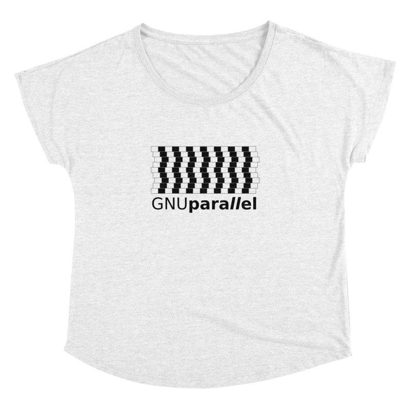GNU Parallel Women's Dolman by Shop for GNU Parallel