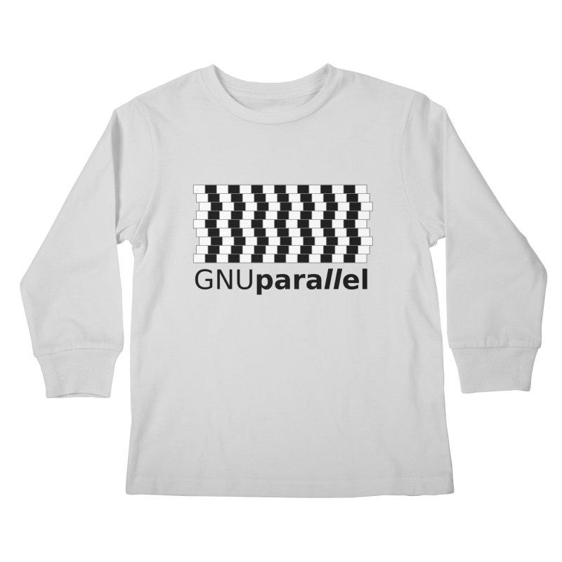 GNU Parallel Kids Longsleeve T-Shirt by Shop for GNU Parallel