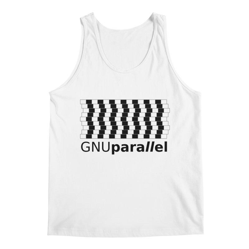 GNU Parallel Men's Regular Tank by Shop for GNU Parallel