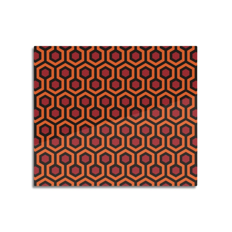 The Overlook Hotel carpet pattern - Shining Kubrick Home Mounted Acrylic Print by goatboy's Artist Shop