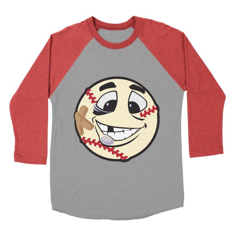 Play Hard Men's Baseball Triblend T-Shirt by goblingraphx's Artist Shop