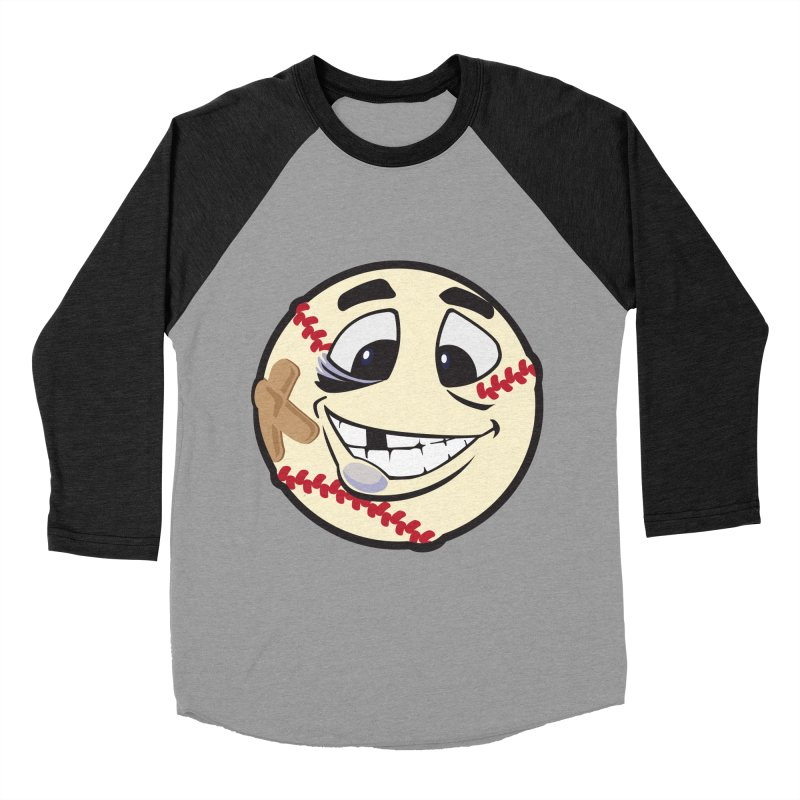 Play Hard Men's Baseball Triblend T-Shirt by goblingraphx's Artist Shop