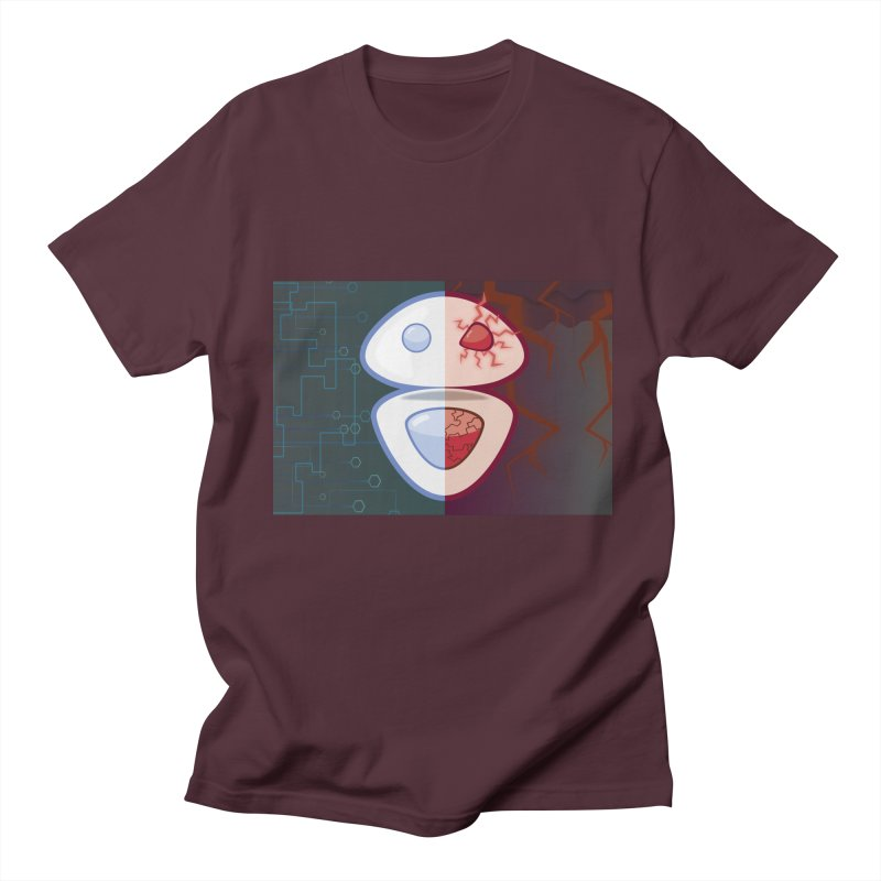 Good or Bad Robot Men's T-Shirt by goblingraphx's Artist Shop