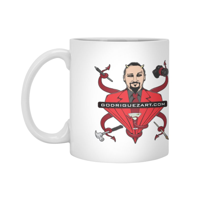 Godriguezart: The Devil made me do it Accessories Mug by the twisted world of godriguezart