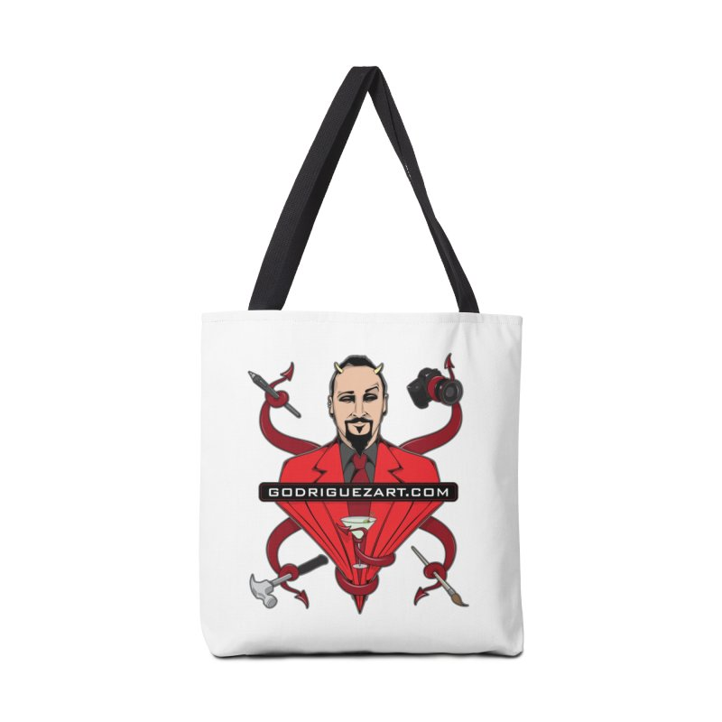 Godriguezart: The Devil made me do it Accessories Tote Bag Bag by the twisted world of godriguezart