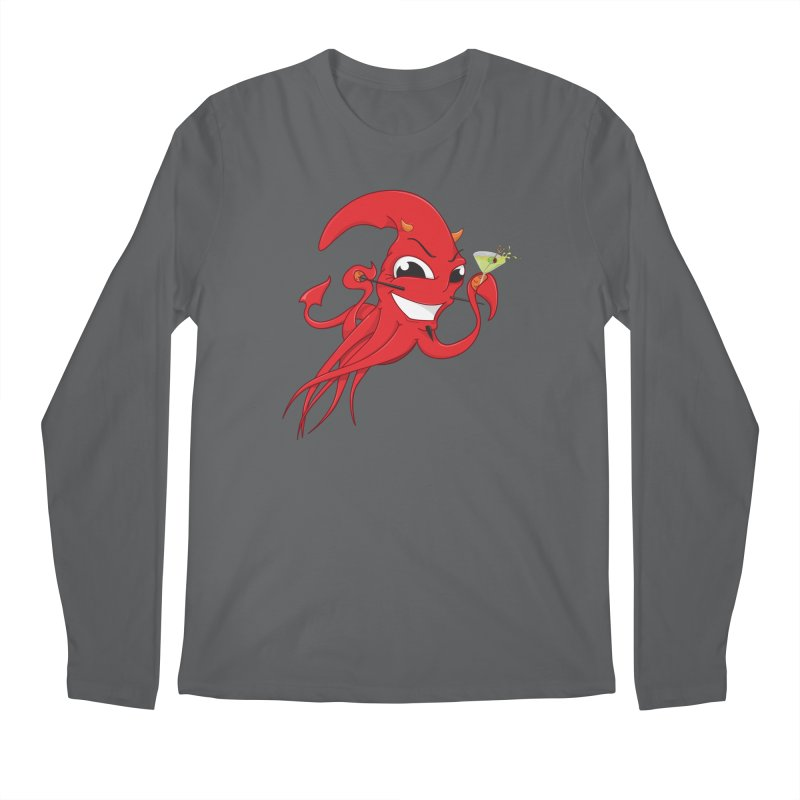 last call of Cthulhu Men's Longsleeve T-Shirt by the twisted world of godriguezart