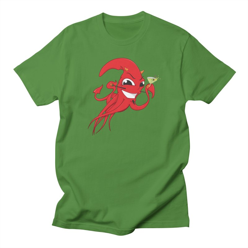 last call of Cthulhu Women's T-Shirt by the twisted world of godriguezart