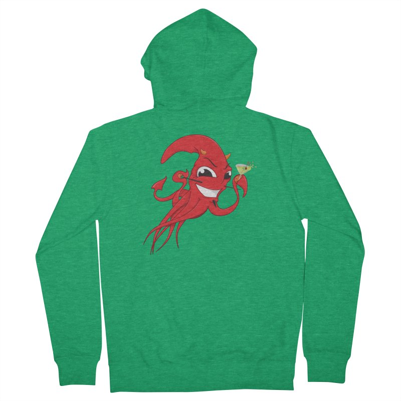 last call of Cthulhu Men's Zip-Up Hoody by the twisted world of godriguezart