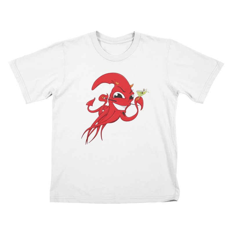 last call of Cthulhu Kids T-Shirt by the twisted world of godriguezart