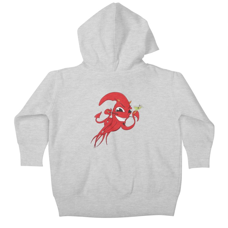 last call of Cthulhu Kids Baby Zip-Up Hoody by the twisted world of godriguezart