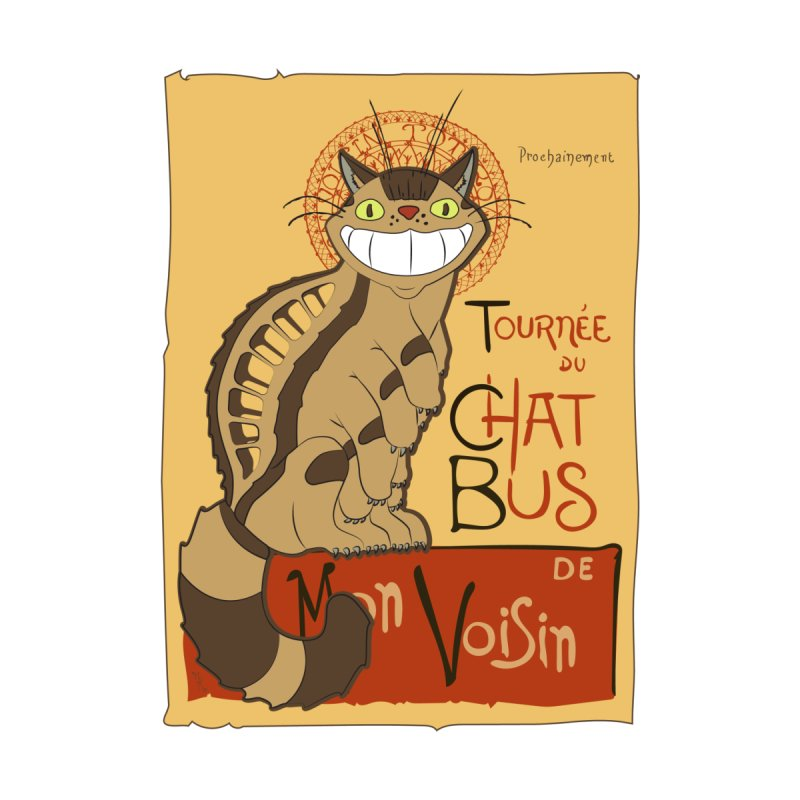 Le Chat Bus by the twisted world of godriguezart