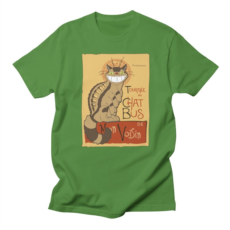 Le Chat Bus Men's T-Shirt by the twisted world of godriguezart
