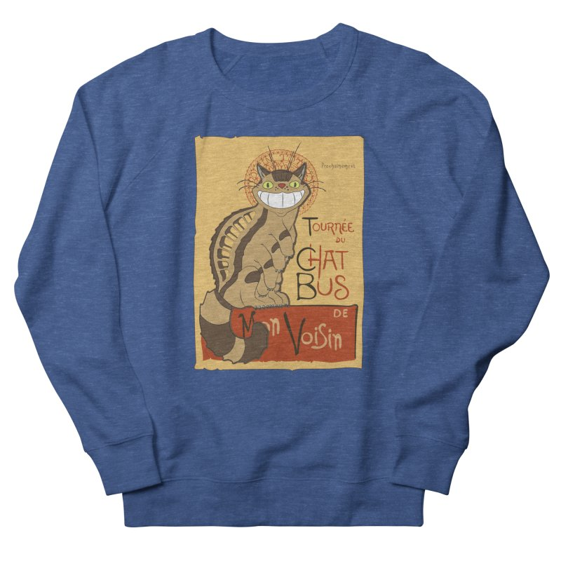 Le Chat Bus Men's Sweatshirt by the twisted world of godriguezart