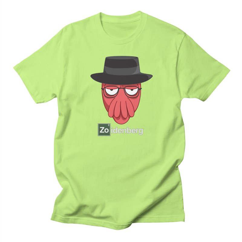 why not zoidenberg? Men's T-Shirt by the twisted world of godriguezart