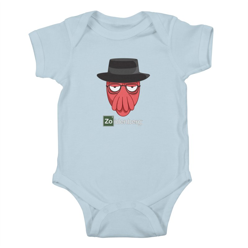 why not zoidenberg? Kids Baby Bodysuit by the twisted world of godriguezart