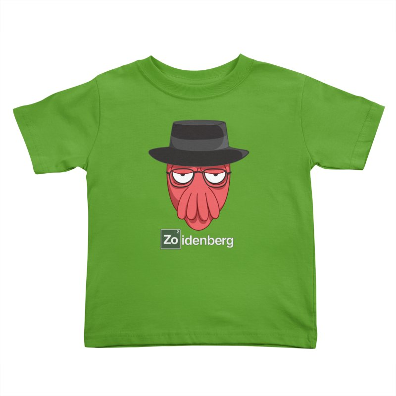 why not zoidenberg? Kids Toddler T-Shirt by the twisted world of godriguezart