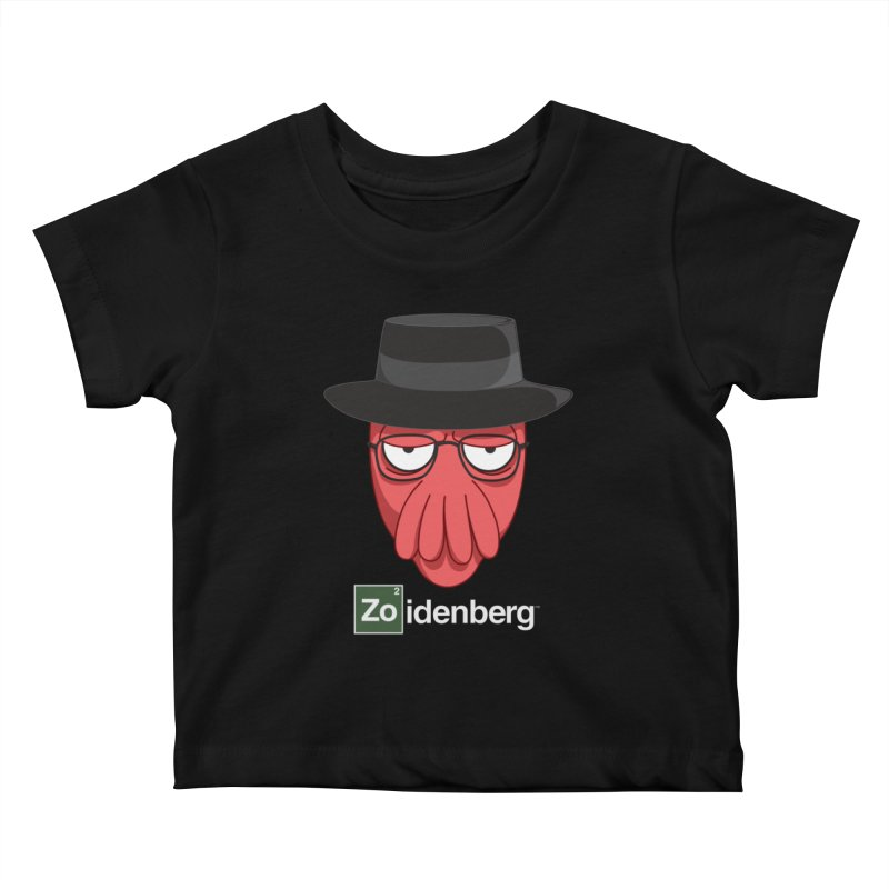 why not zoidenberg? Kids Baby T-Shirt by the twisted world of godriguezart