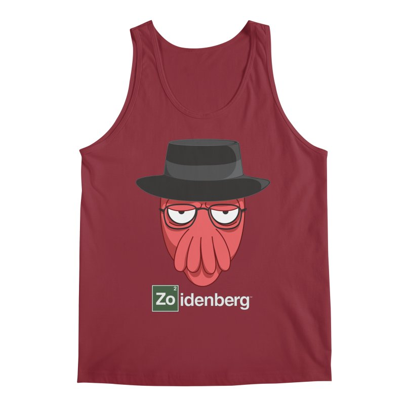 why not zoidenberg? Men's Tank by the twisted world of godriguezart