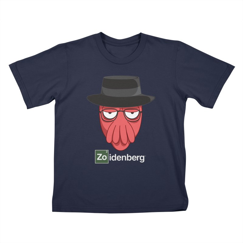 why not zoidenberg? Kids T-Shirt by the twisted world of godriguezart