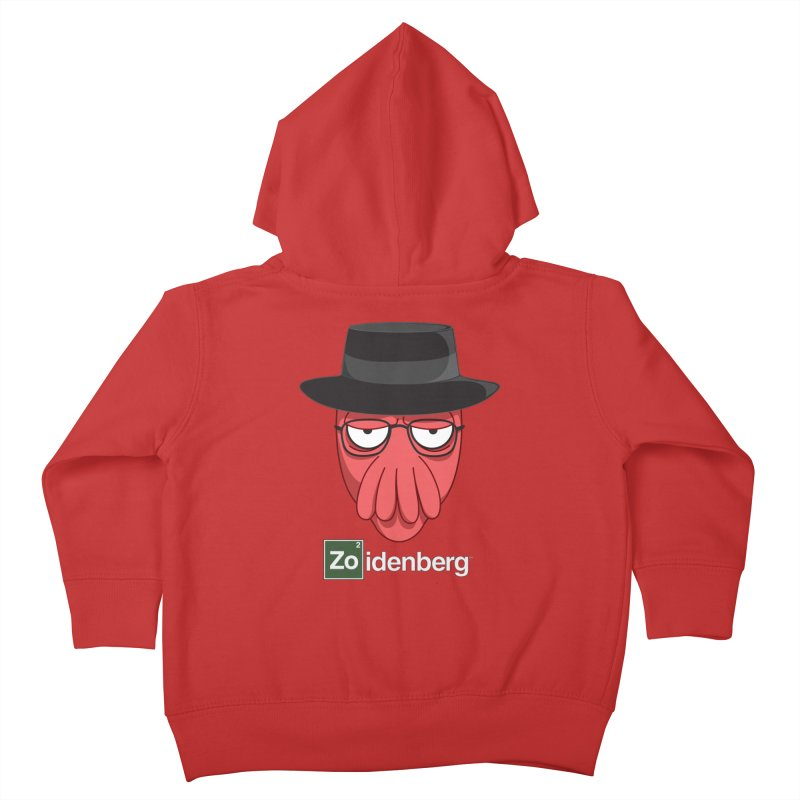 why not zoidenberg? Kids Toddler Zip-Up Hoody by the twisted world of godriguezart