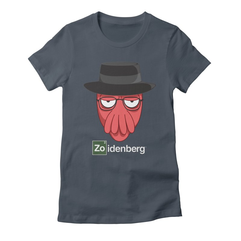why not zoidenberg? Women's T-Shirt by the twisted world of godriguezart
