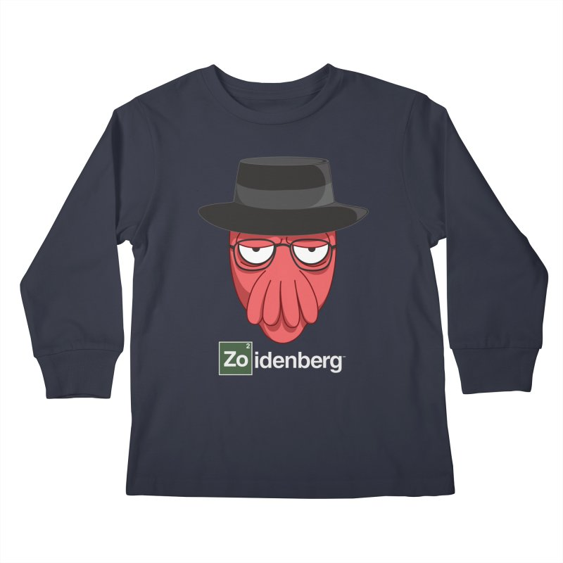 why not zoidenberg? Kids Longsleeve T-Shirt by the twisted world of godriguezart