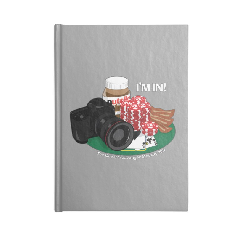 TGSM 2017 Accessories Blank Journal Notebook by the twisted world of godriguezart