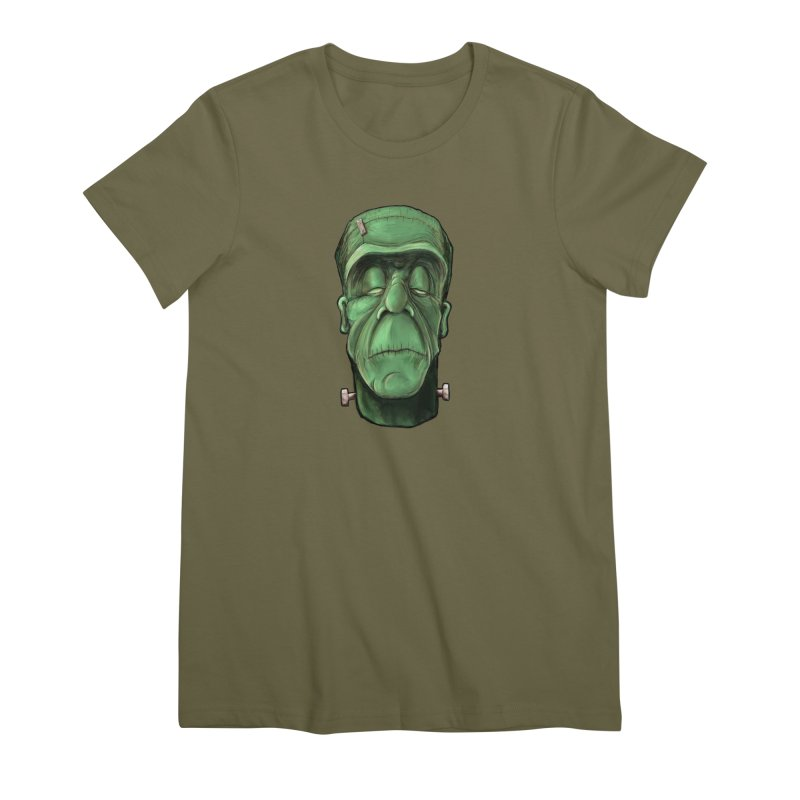 Frankie Women's Premium T-Shirt by the twisted world of godriguezart