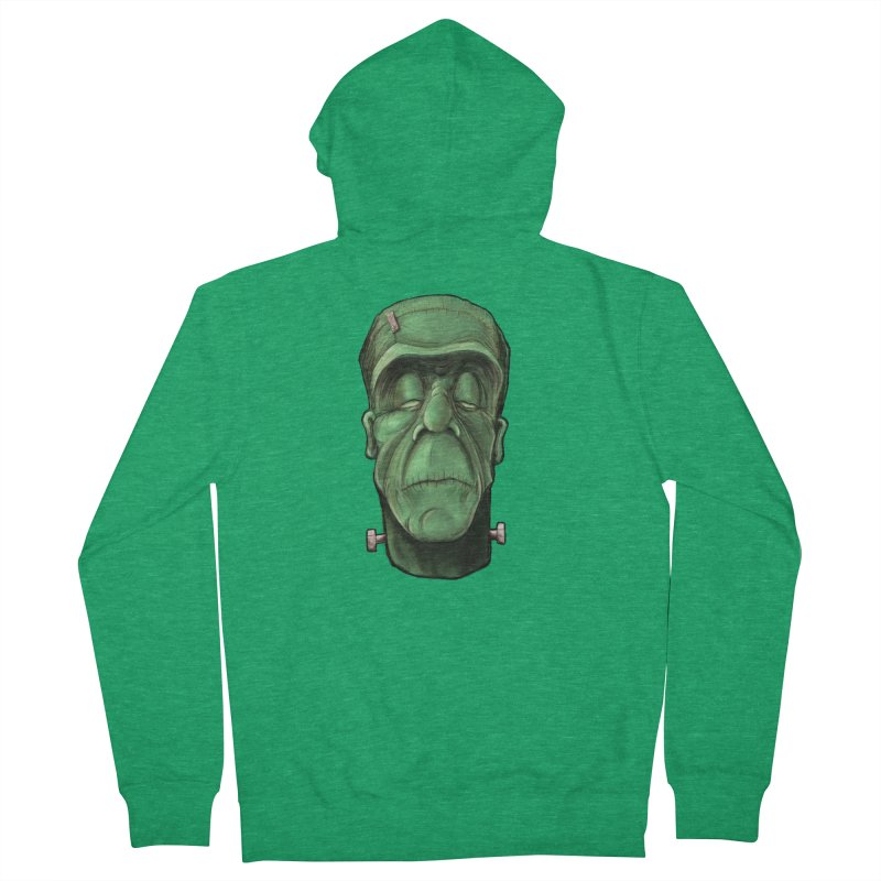 Frankie Men's Zip-Up Hoody by the twisted world of godriguezart