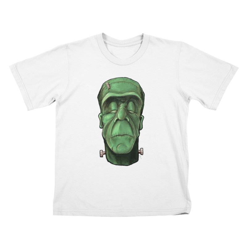 Frankie Kids T-Shirt by the twisted world of godriguezart