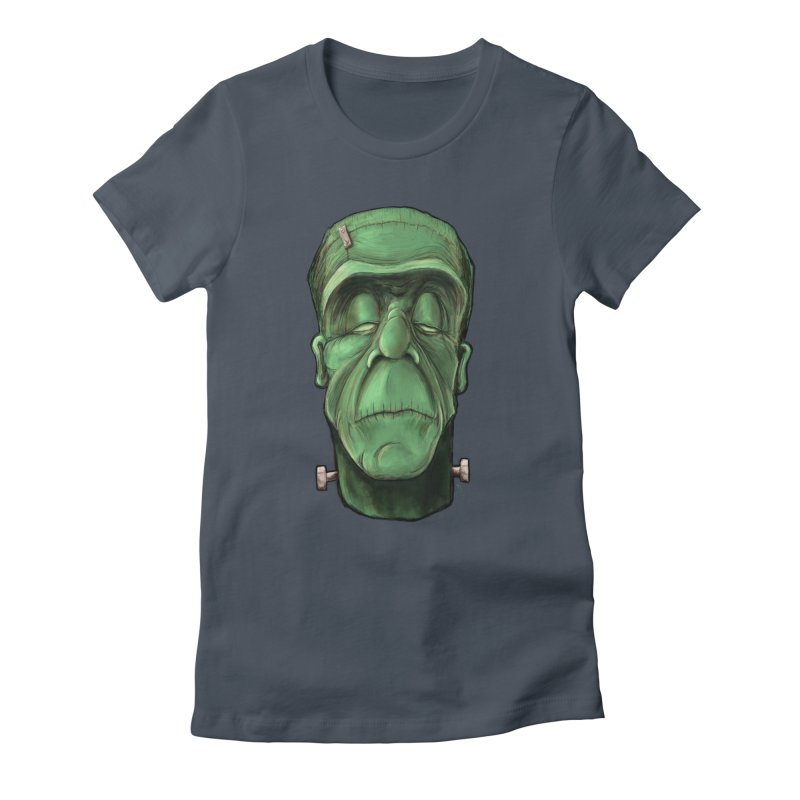 Frankie Women's T-Shirt by the twisted world of godriguezart