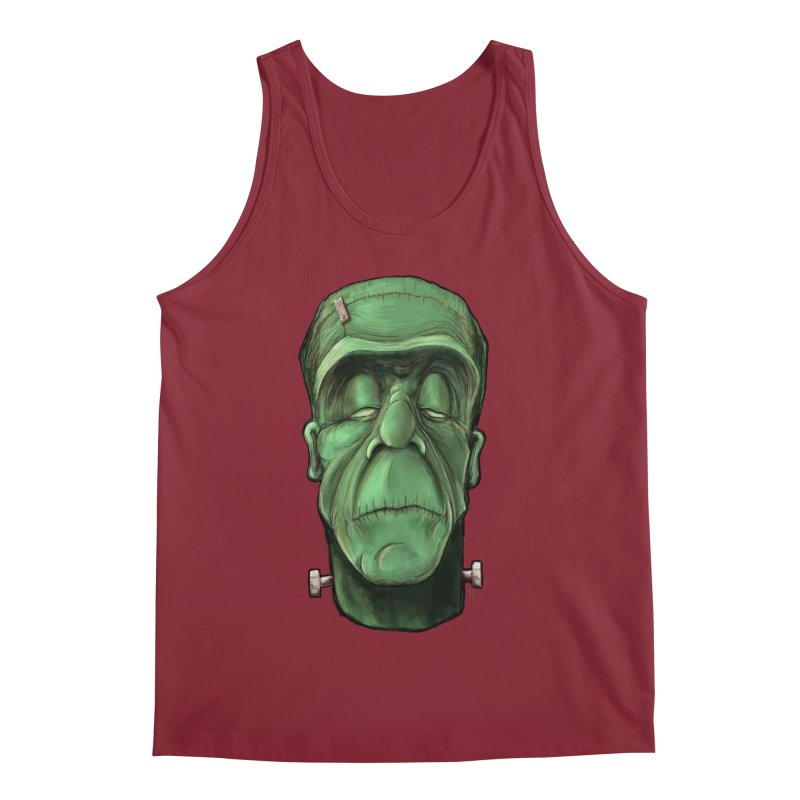 Frankie Men's Tank by the twisted world of godriguezart